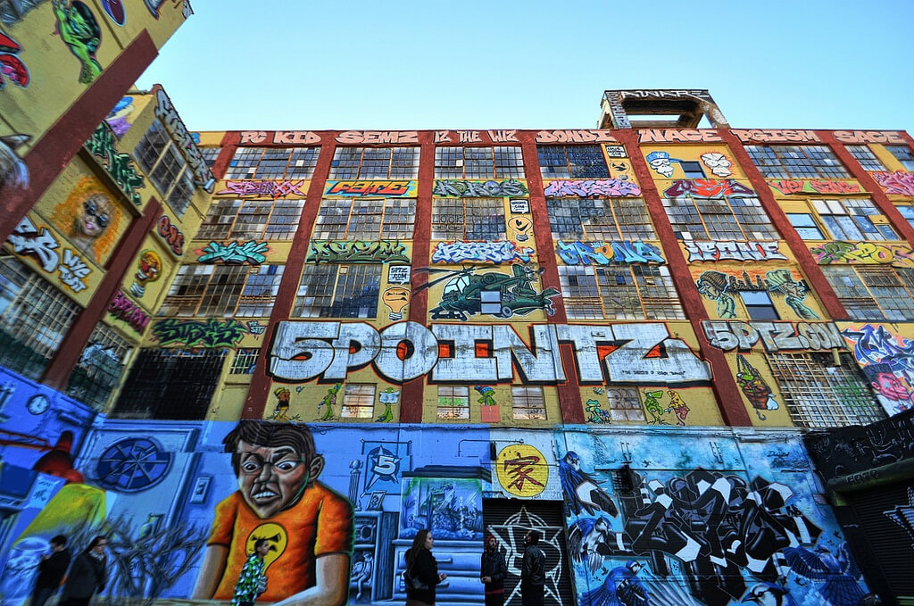 5Pointz nel Queens a NewYork
