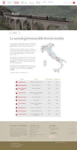 Fondazione FS_pagina Binari senza tempo